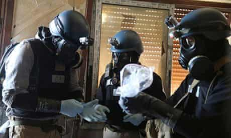 UN chemical weapons expert