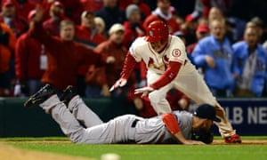 St. Louis Cardinals' Allen Craig, 9th inning, Game Three
