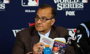 MLB executive vice president for baseball operations Joe Torre, Cardinals vs Red Sox, Game Three