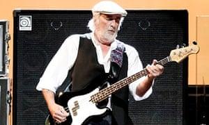 John McVie of Fleetwood Mac