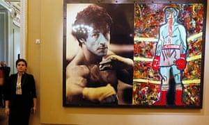 Sylvester Stallone's art