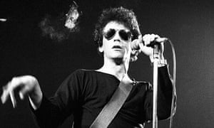Lou Reed performing in 1983.