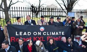Ketsone XL White House protest