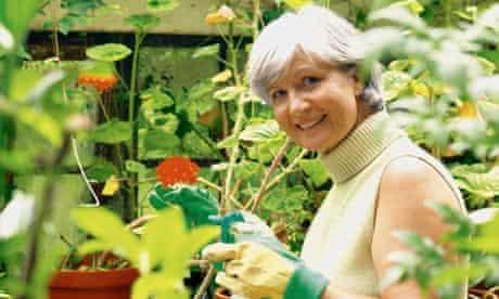 Gardening and DIY can prolong life
