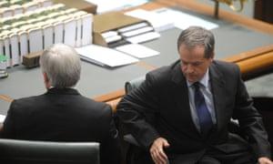 Kevin Rudd and Bill Shorten
