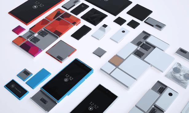 Motorola has provided a 'sneak peek at early designs' for Project Ara smartphones