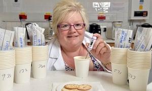Coffee taster Sindy Parker