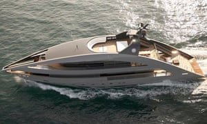 Norman Foster superyacht