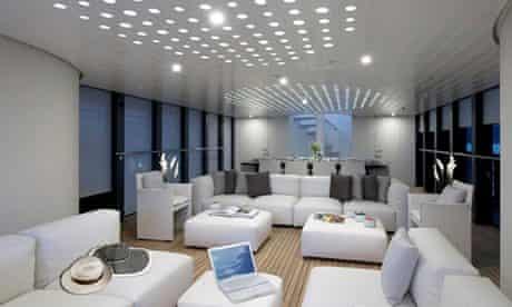 Inside Norman Foster's superyacht