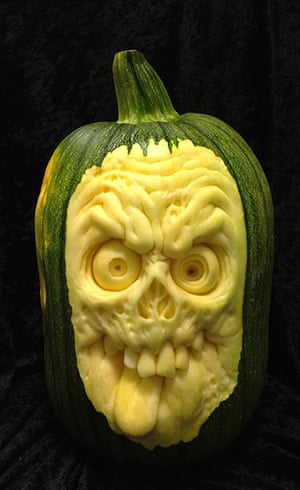Pumpkin carvings for halloween in pictures life and style the
