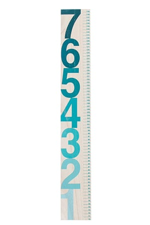 Get The Look - Kids: Wall chart ruler