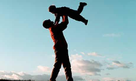 Happiness father son