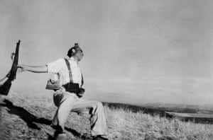 Death of a Loyalist Militiaman, Cordoba front, September 1936, is one of the most well-known in the history of photojournalism