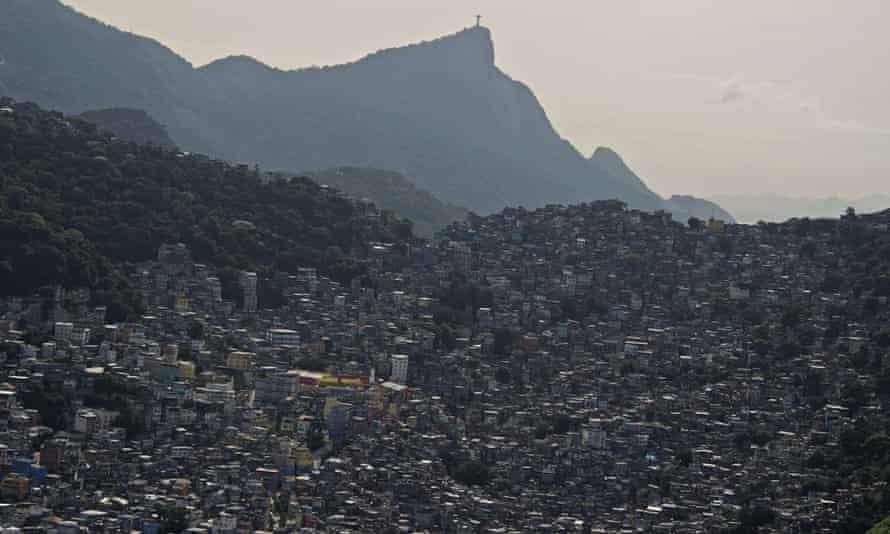 Rio's Rocinha favela.