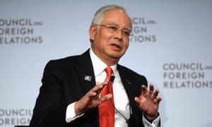 Najib Razak: nothing to fear on human rights.