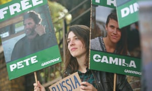 Russian Embassy Protest, London