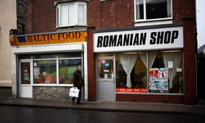 A Romanian shop in Boston, Lincolnshire