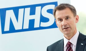 Jeremy Hunt and the NHS