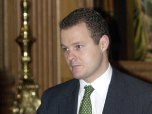 Lord Rothermere, owner of the Daily Mail and the Mail on Sunday.