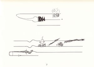 Graphic scores: Cathy Berberian, Stripsody score