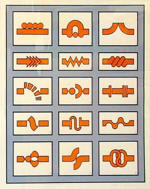 Graphic scores: Tom Phillips, Ornamentik score