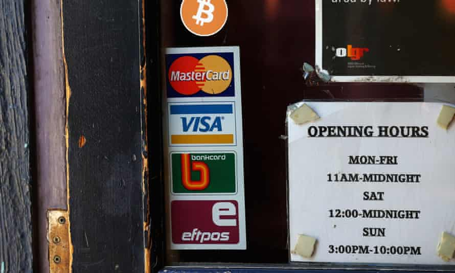 Bitcoin is being accepted by some independent shops