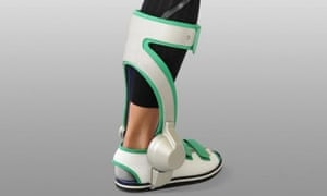 Robo-boot … the Ankle Walking Assist Device is designed to help stroke victims regain the confidence to walk.