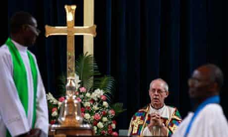 Archbishop of Canterbury Justin Welby visits Kenya