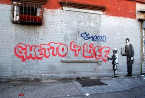 Banksy in NYC update: Ghetto 4 Life in the South Bronx