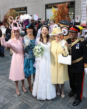 Celebs Halloween costumes: Royal wedding outfits
