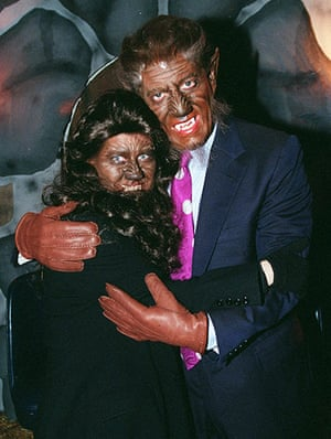 Celebs Halloween costumes: Al and Tipper Gore