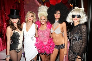 Celebs Halloween costumes: Miranda Kerr's Sexy Circus 2011