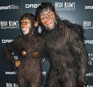 Celebs Halloween costumes: Heidi Klum and Seal