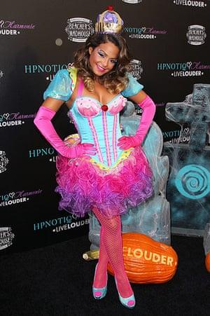 Celebs Halloween costumes: Christina Milian