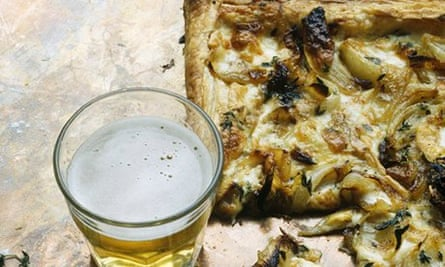 A tart for lunch, supper or a party