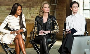 Naomi Campbell, Caroline Winberg and Erin O'Connor.
