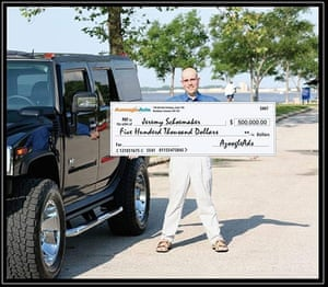 Photoshop Disasters: AzoogleAds Cheque