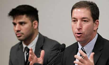 David Miranda and Glenn Greenwald