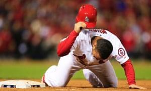 Kolten Wong, Cardinals vs Red Sox, Game Four