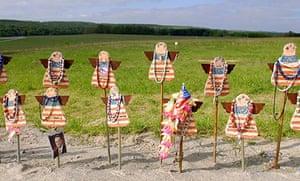 United 93 crash site memorial