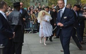 Week in Gaga: Lady Gaga leaves Hotel Ritz in Berlin en route to London