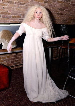 Week in Gaga: All white on the night: Lady Gaga made a surprise unannounced appearance at