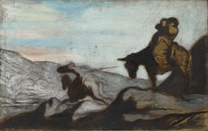Honore Daumier: Honore Daumier Don Quixote and Sancho Panza