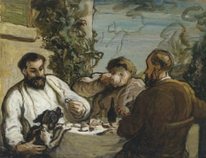 Honore Daumier: Honore Daumier Lunch in the Country