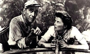 African Queen still with Hepburn and Bogart