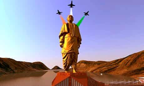 Statue of Unity planned in Gujarat, India, will be world's tallest