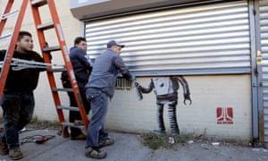 Coney Island Banksy