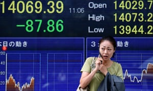 Uncertainty about how long the partial shutdown of the U.S. government will last kept Asian stock markets on edge Friday. (AP Photo/Koji Sasahara)