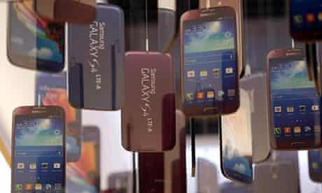 Samsung Galaxy S4 smartphones