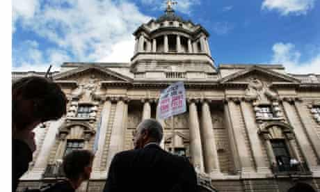 Legal aid cuts protest